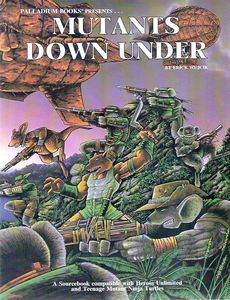 Mutants Down Under. The teenage mutant ninja Turtle RPG