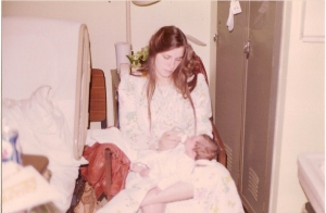 Me as a newborn. I look at this photograph sometimes wondering...