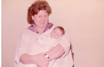 My grandma, I miss her
