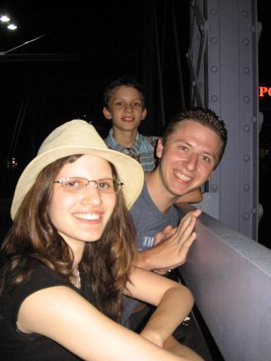Rebekah, me and her younger brother
