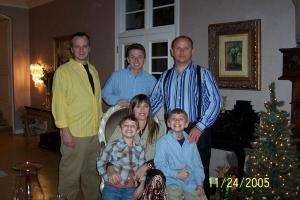 All of us together just two years prior.